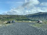 Drive_to_Hjalparfoss_005_iPhone_08202021 - Approaching the car park for Hjalparfoss