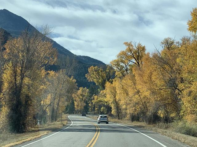 Drive_to_Marble_017_iPhone_10182020 - The drive along the Hwy 133 south of Carbondale towards Hayes Creek Falls and Marble featured a lot of Autumn foliage even though most of state had already gone past the peak of the Fall colors during our mid-October 2020 visit