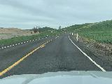 Drive_to_Palouse_Falls_015_iPhone_04042021 - Driving through some rural roads flanked by farms between Walla Walla and Palouse Falls