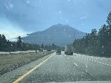 Drive_to_Sacramento_012_iPhone_06292021 - Approaching the front of what appeared to be a big wildfire on the slopes of Mt Shasta