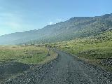 Drive_to_Seydisfjordur_001_iPhone_08092021 - Driving the gravel Austurlandsvegur beyond the Flogufoss turnoff towards Breiddalsheidi Pass