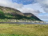 Drive_to_Siglufjordur_107_iPhone_08142021 - Looking across the Siglufjordur towards the town of the same name