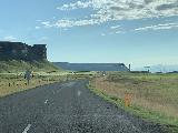 Drive_to_Skaftafell_005_iPhone_08082021 - Driving along the Ring Road between Kirkjubaejarklaustur and Skaftafell NP (now part of Vatnajokull NP)