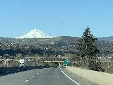 Drive_to_Tygh_Valley_019_iPhone_04052021 - Heading into The Dalles with Mt Hood looming in the backdrop as we were about to leave the I-84 towards Tygh Valley