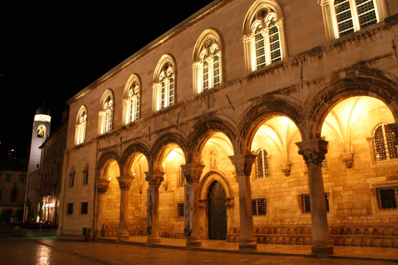 More night scenes in Dubrovnik