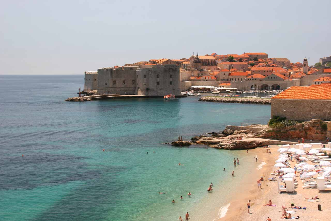 After split, Julie and I spent the remaining days of our time in Croatia in the beautiful walled city of Dubrovnik, which was perched right against the azure blue colors of the Mediterranean