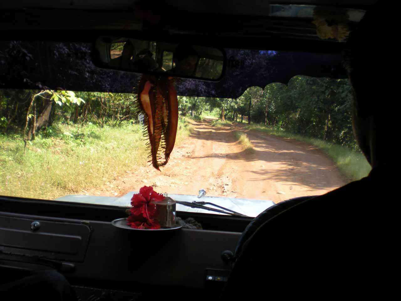 On the 4wd path headed closer to Dudhsagar Falls