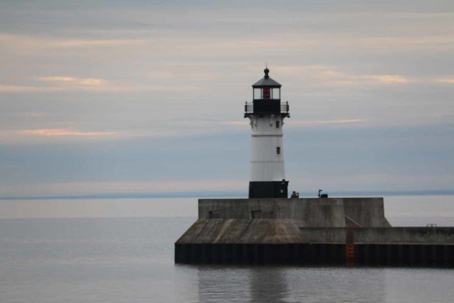 Duluth_147_09282015 - The nearest city to Big Manitou Falls was the twin cities of Superior, Wisconsin and Duluth, Minnesota. Duluth was well known for Canal Park, which featured a bridge as well as this lighthouse