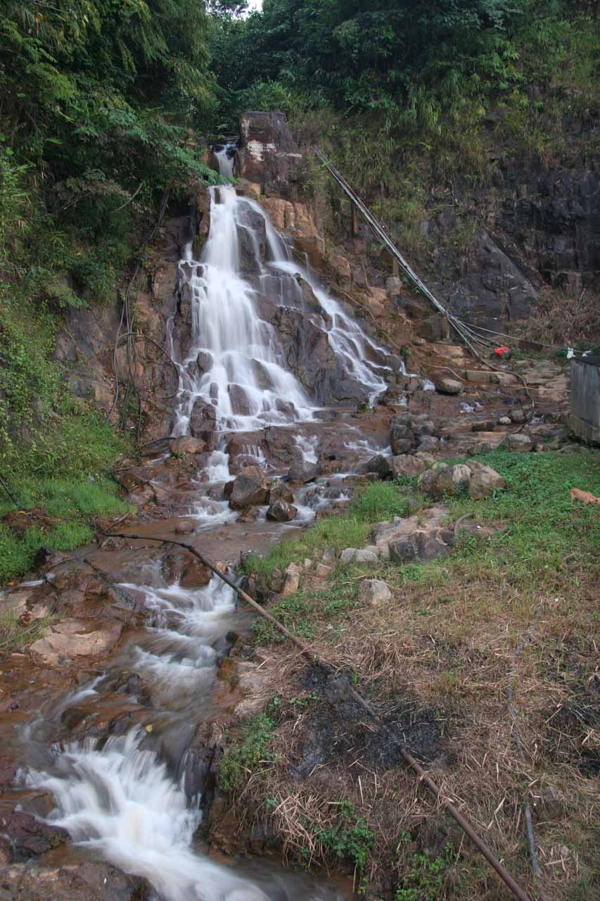 View of Dumdam Falls from the bridge