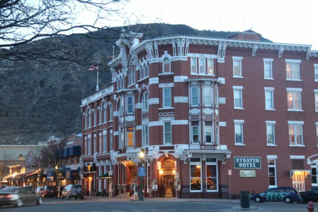 Durango_029_04152017 - Durango was between 2-3 hours drive from Telluride, but it was a convenient base for Mesa Verde and some other Rocky Mountain attractions. Shown here was the historic and charming Strater Hotel