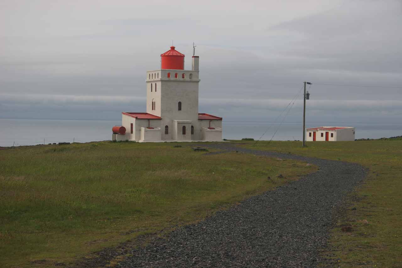 Further to the east of both Kvernufoss and Skógafoss was the lighthouse and sea cliff formations of Dyrlohaey, which was well worth the stop especially if you get waterfalled out