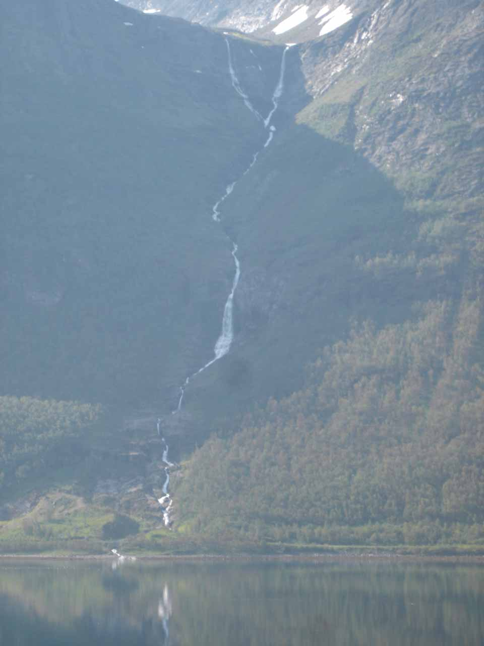 More direct look at what I'm calling Båfossen