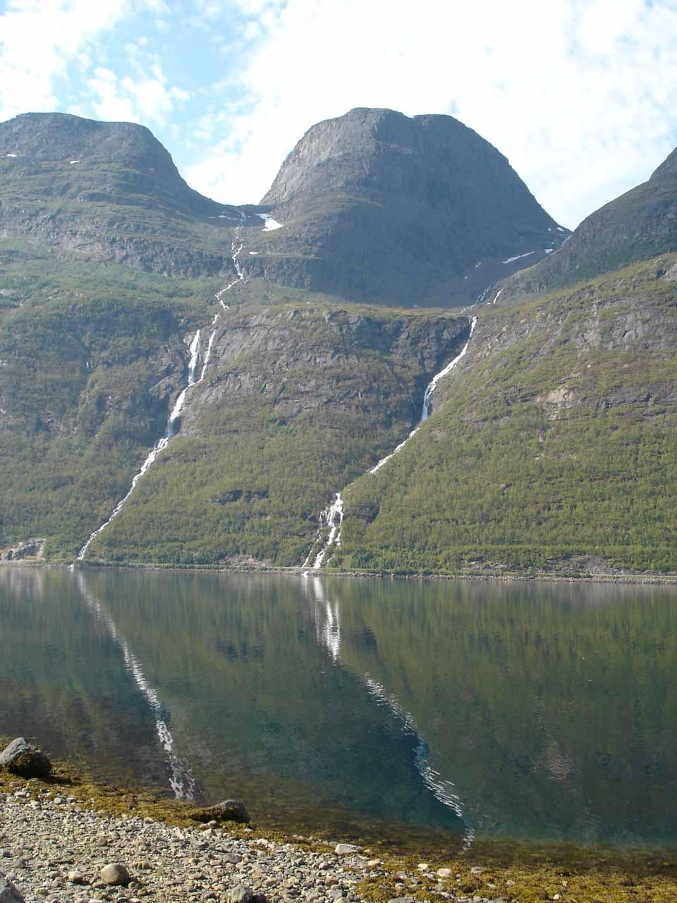 Ytre og Indre Isfossen