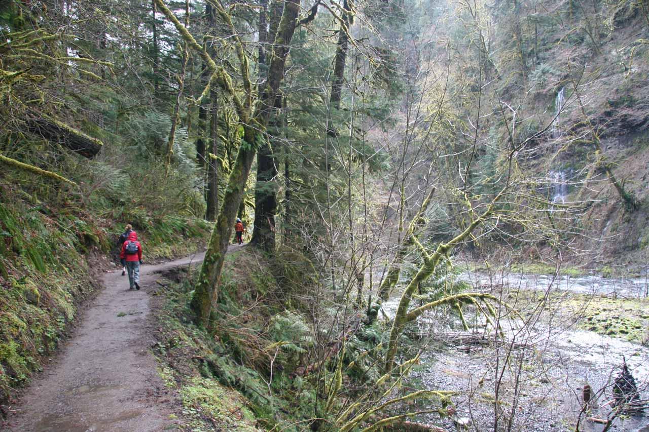 Still on the Eagle Creek Trail