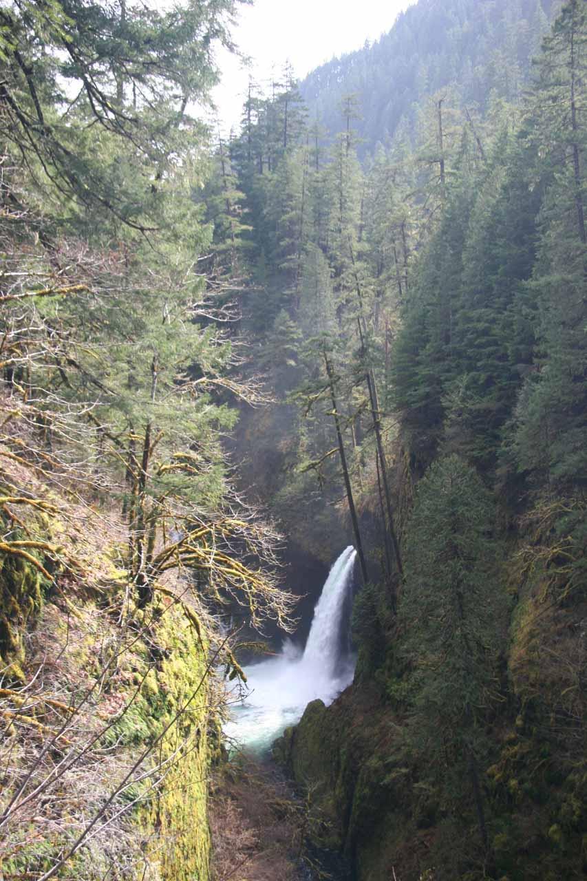Full context of Metlako Falls