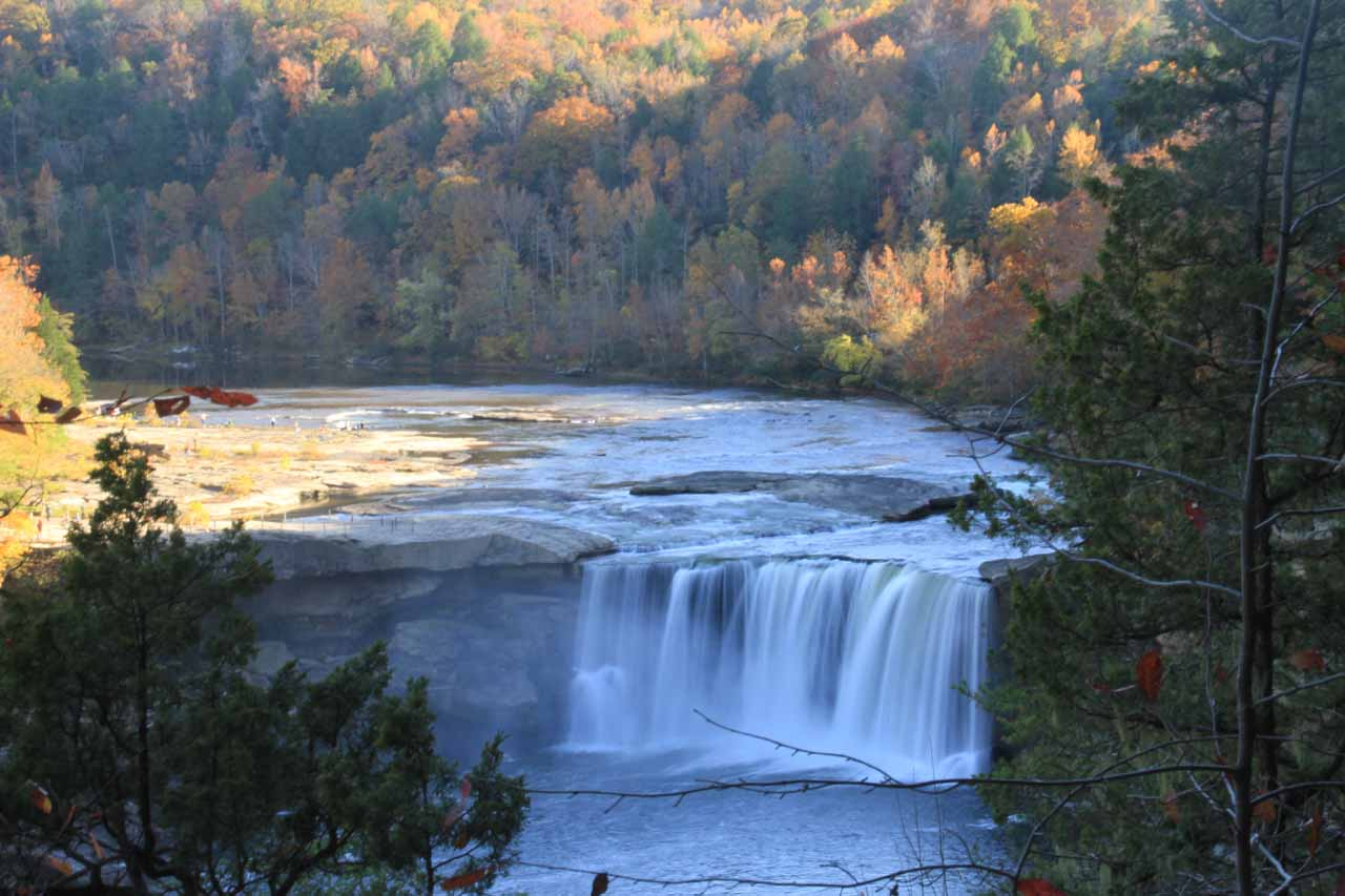 Cumberland Falls from the Eagle Falls Trail