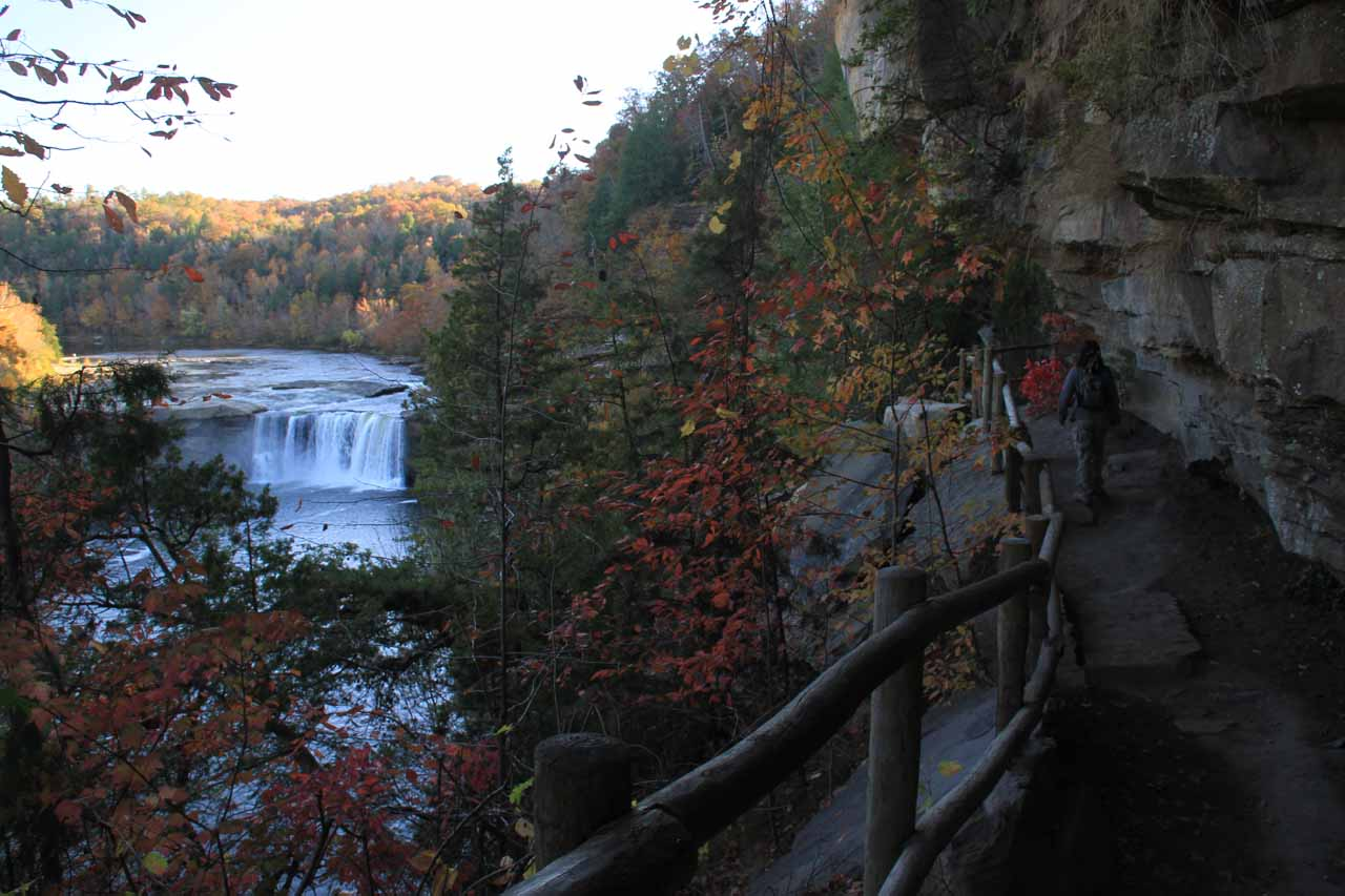 One of our more surprising places to go waterfalling was to the Southeastern United States where Fall colors and sightings of places like Cumberland Falls in Kentucky left an impression on us