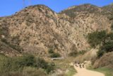 Eaton_Canyon_014_02042012 - Approaching the bridge at the end of the wash and the mouth of Eaton Canyon during our February 2012 visit