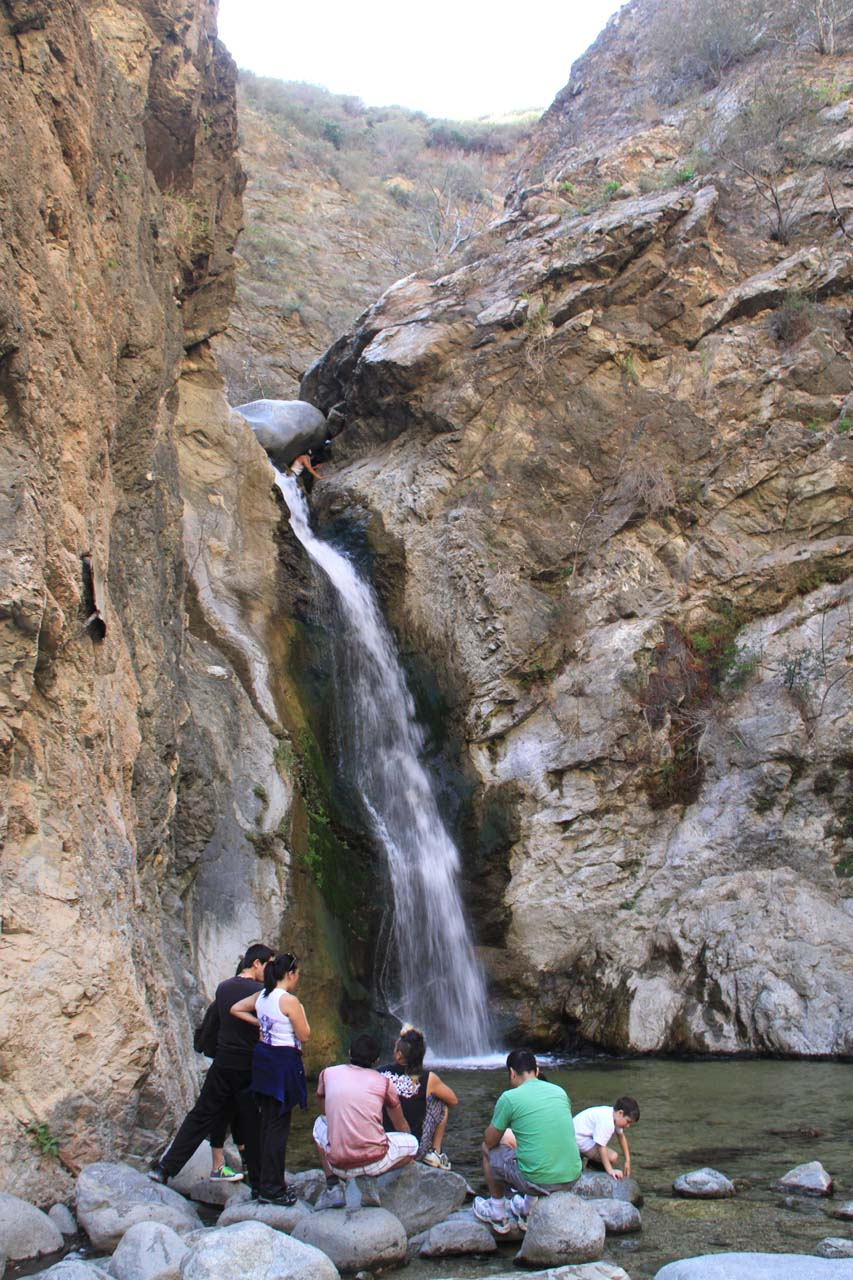 Contextual view of the falls