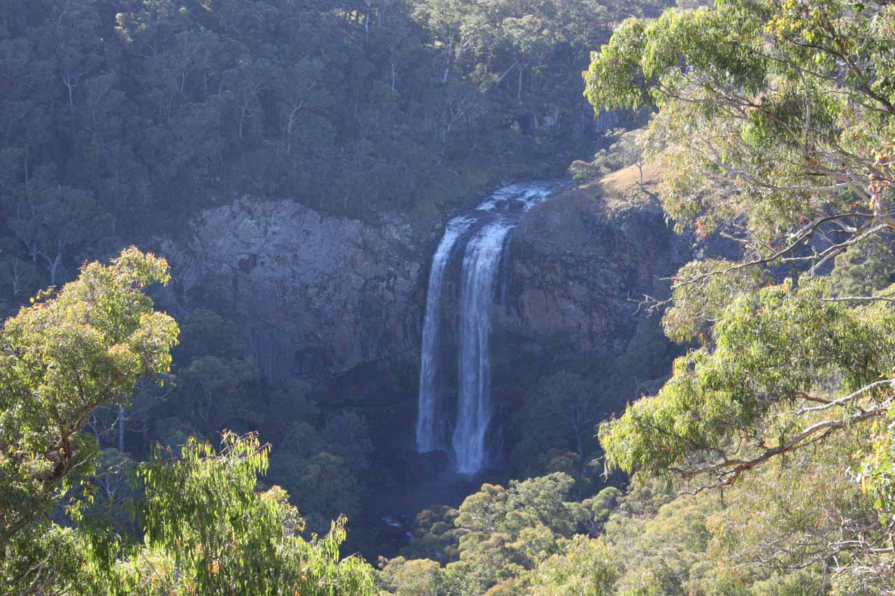 This was the Lower Ebor Falls in suboptimal morning light; just downstream of the main or upper Ebor Falls