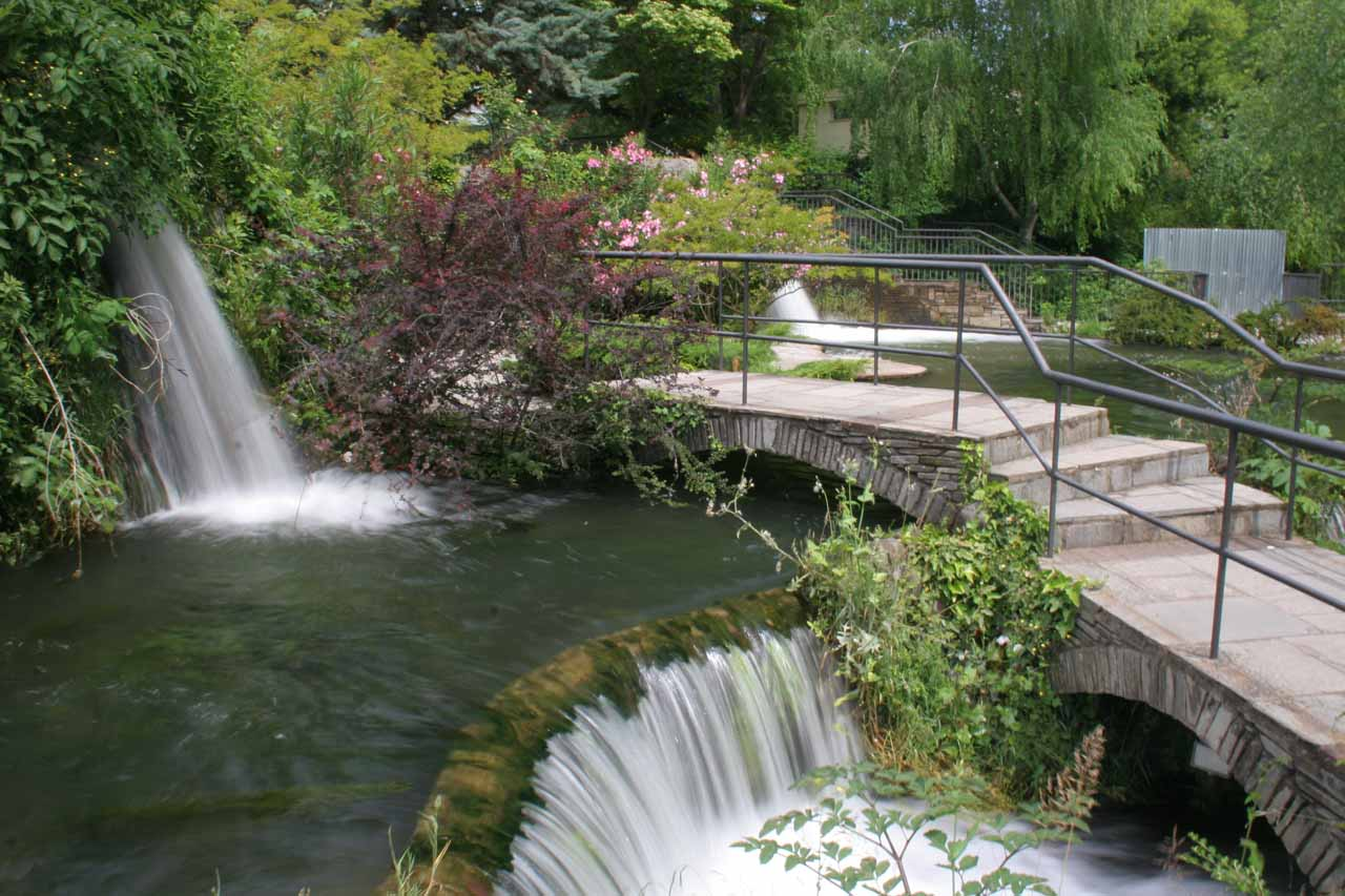 Another look at the garden above the Edessa Waterfalls