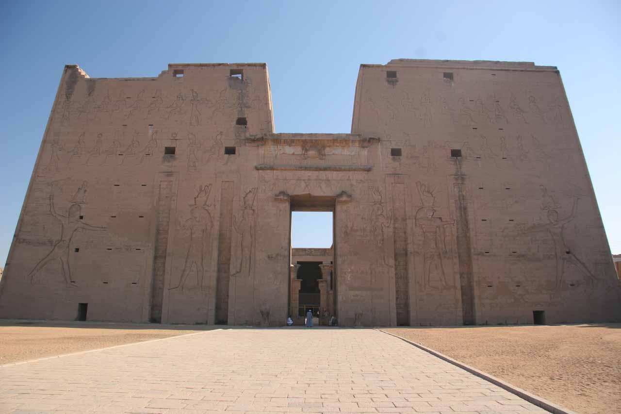 Facade of Edfu Temple