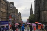 Edinburgh_058_08212014 - Rain at the Royal Mile before the St Giles Cathedral
