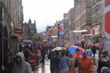 Edinburgh_312_08212014 - Rain or shine, the Royal Mile was still a happening place