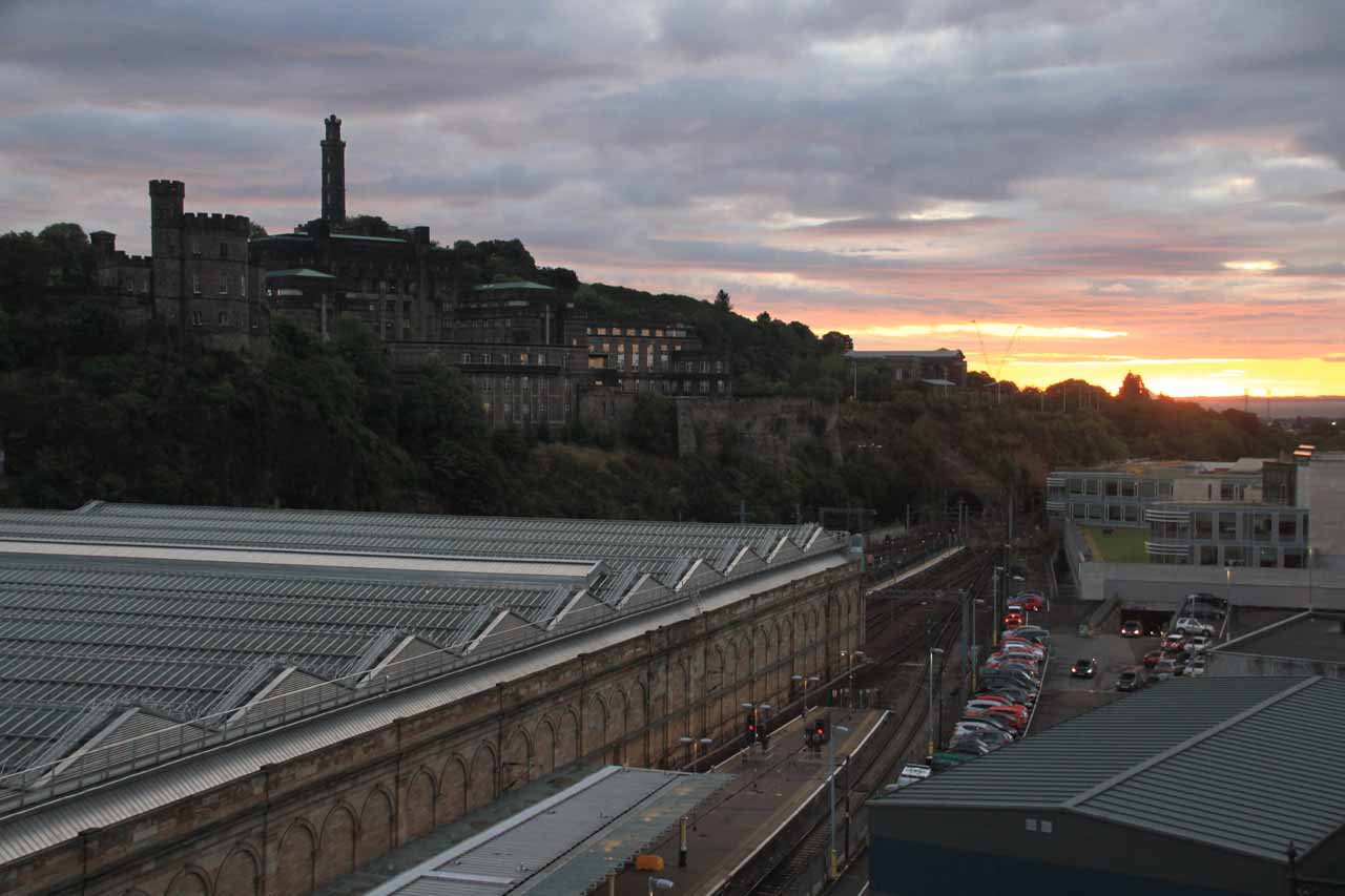 Pitlochry was roughly a 2 hour drive north from Edinburgh, which had to have been one of the most charming cities we've been to. Calton Hill shown here was merely one of the worthwhile sights