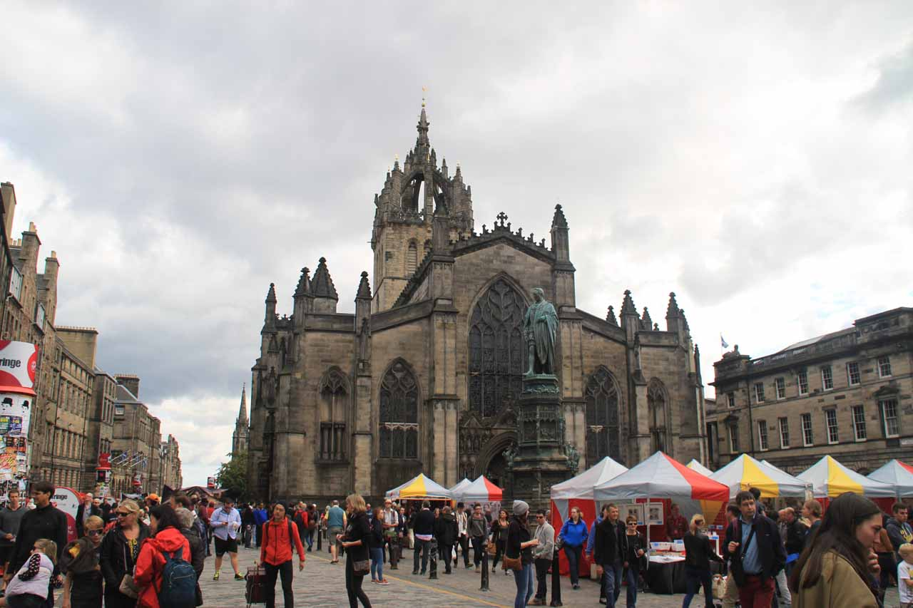 On the same day we visited Gray Mare's Tail, we'd eventually settle into Edinburgh during festival season in late August, which was a mixed bag of charm, history, atmosphere, and energy