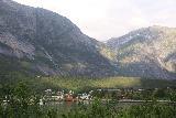 Eidfjord_kommune_013_06232019 - Looking back towards the scenic town of Eidfjord