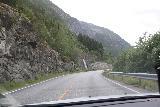 Eidfjord_kommune_021_06232019 - A roadside waterfall tumbling besides the Rv7 as I was leaving Eidfjord