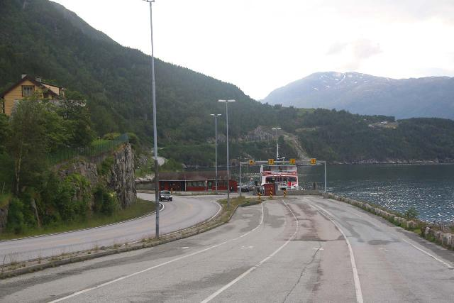 Eidfjord_kommune_022_06232019 - For old times sake, this was the old ferry that not acts as a WC as the boat is no longer operating as a ferry anymore.  We actually did have to take this ferry across on our first visit back in 2005