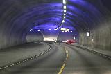 Eidfjord_kommune_029_06232019 - Unusual underground roundabout between the Rv7 and Rv13 near the Hardanger Bridge