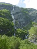 Eikesdalen_003_07032005 - Another look at the waterfall on Sandgrova or Bruåa from back in July 2005. By the way, this photo and the rest of the photos in this gallery took place on this day