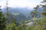 Eisriesenwelt_014_07042018 - Another partial look down towards Werfen backed by attractive Austrian Alp mountains as we made our way to the Eisriesenwelt Ice Caves