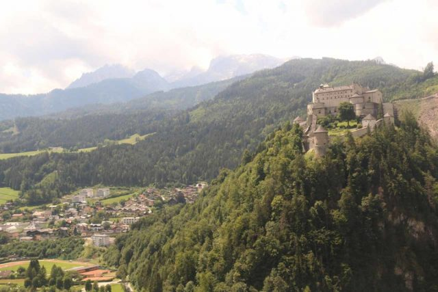 Eisriesenwelt_192_07042018 - Another building that made frequent cameos in the Sound of Music was the Burg Hohenwerfen, which was perched high up on a bluff overlooking the Salzach