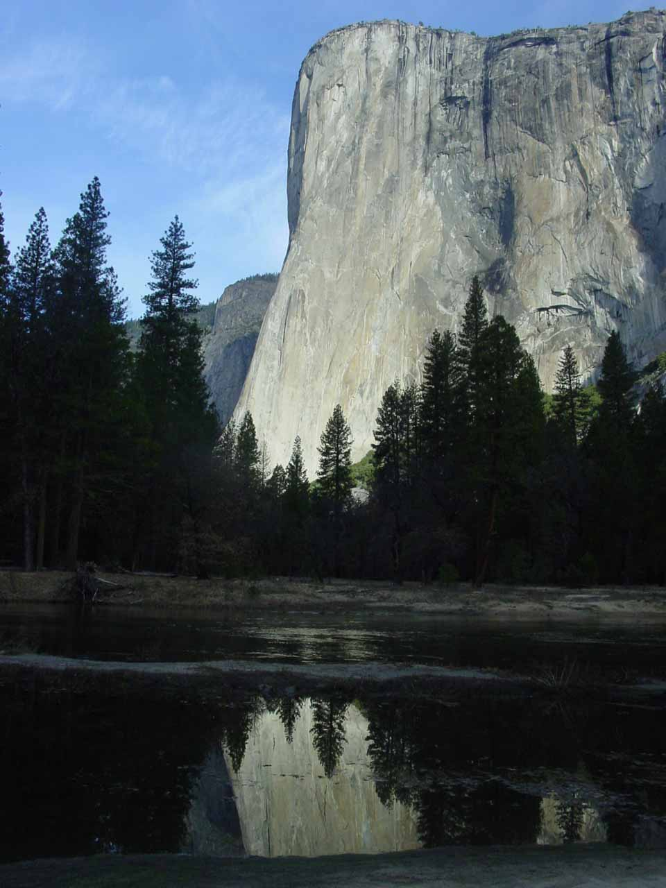 El Capitan in the morning