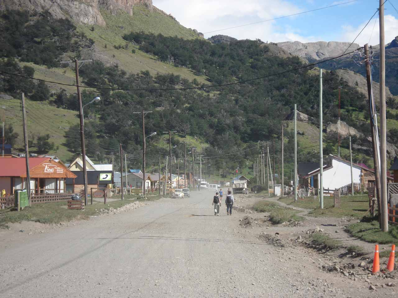 The Wild West feel of Avenida San Martin in El Chalten