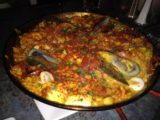 Elemental_Tapas_006_iphone_07142016 - It was a 40-minute wait for this House Paella, but Mom, Dad, and I would eventually finish it easily at the Elements Tapas Bar and Restaurant in downtown Medford