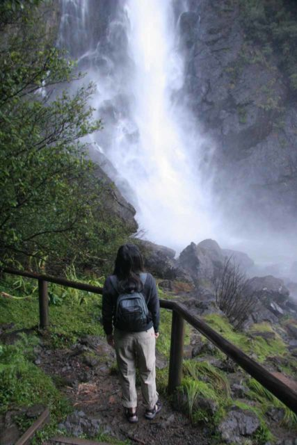 Hiking pants can handle some light spray from waterfalls, which make them ideal gear for our waterfall chasing