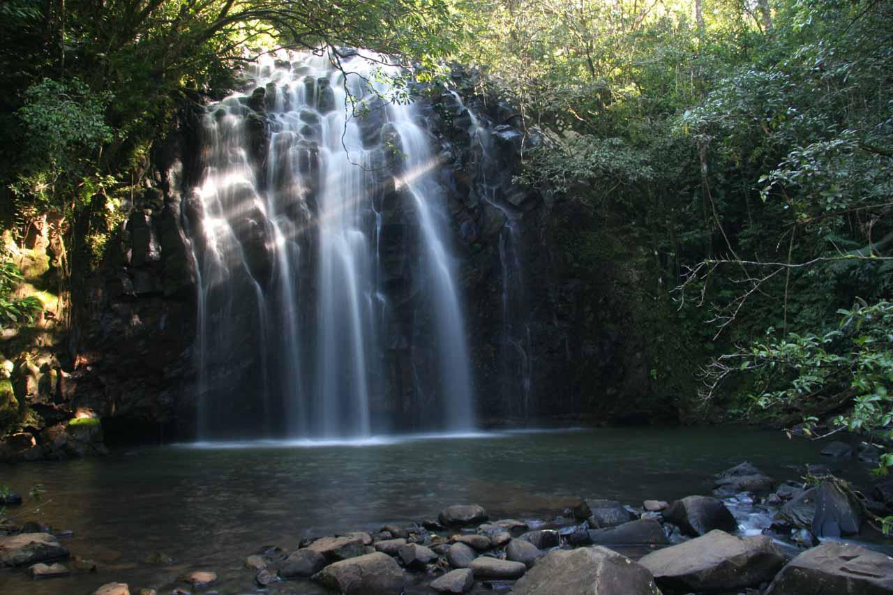 Ellinjaa Falls was the last waterfall on the Waterfall Circuit going clockwise on Theresa Creek Rd