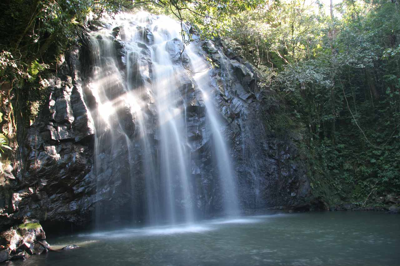 Another look at Ellinjaa Falls and its inviting plunge pool