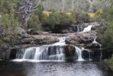 Enchanted_Walk_012_11302017 - Closer look at the cascade next to the Pepper's Cradle Mountain Lodge