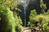 Erskine_Falls_17_019_11182017 - At the lower lookout for Erskine Falls under sunny weather in November 2017. Notice some people who hopped the barricade and scrambled right up to the plunge pool
