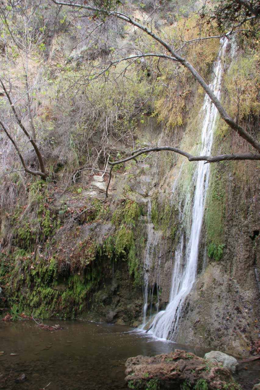 Our first look at Lower Escondido Falls in 2009