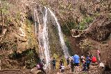 Escondido_Falls_111_04072019 - Lots of people at the base of the Lower Escondido Falls during our visit in April 2019