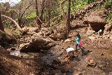 Escondido_Falls_182_04072019 - The kids enjoying themselves in the creek just downstream of the Lower Escondido Falls in April 2019
