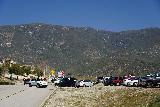 Etiwanda_Falls_010_02272021 - Approaching the apparent 'overflow' parking space, but Rancho Cucamonga policy ended up ticketing all of these vehicles during our late February 2021 visit