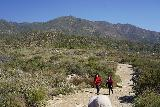Etiwanda_Falls_031_02272021 - We were actually in the minority as most people visiting Etiwanda Falls on this late February 2021 day weren't wearing masks.  That said, I think the UV from the sun on this wide open shaded trail might have helped to mitigate the chances of spread